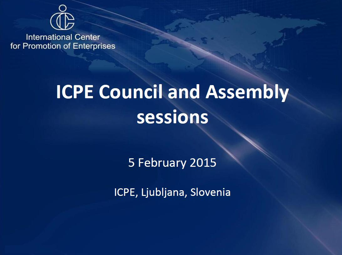 ICPE sessions