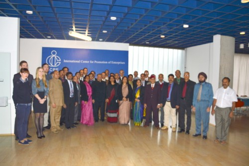 Conclusion of the ICPE ISTM Overseas training program for Officers of the Government of India