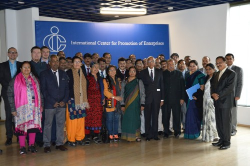 Commencement of the ICPE ISTM Overseas training program for Officers of the Government of India