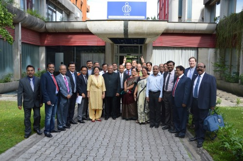 Training of civilian officers of India's Ministry of Defense