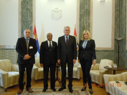 ICPE meets the President of the Republic of Serbia