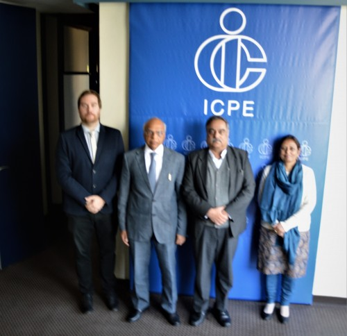ICPE's collaboration with India to be strenghtened